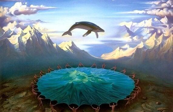 고래 하늘