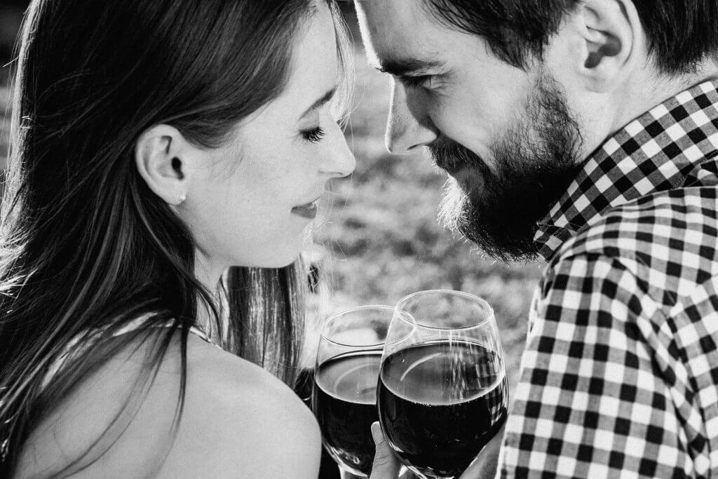 커플 와인