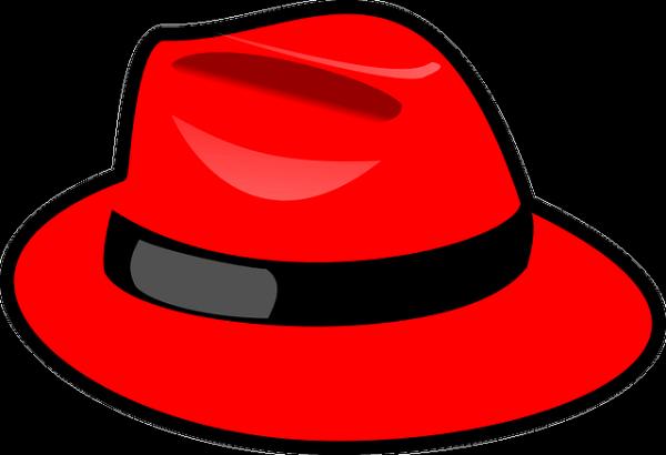 빨간 중절모 그림