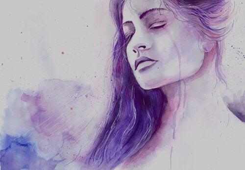 슬픔을 인정하는 것은 용감한 일이다