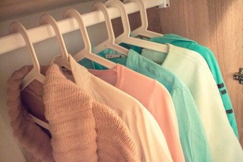 생각을 정리하고 싶을 때는 옷장을 정리하라