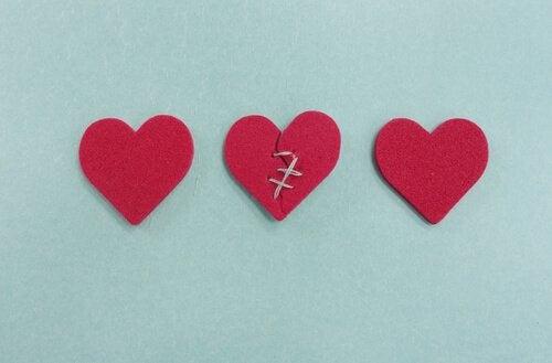 세 심장: 마음의 상처를 입더라도 교훈으로 삼겠어