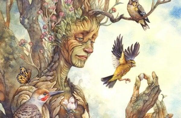 행복에 대해 나무가 가르쳐 줄 수 있는 것
