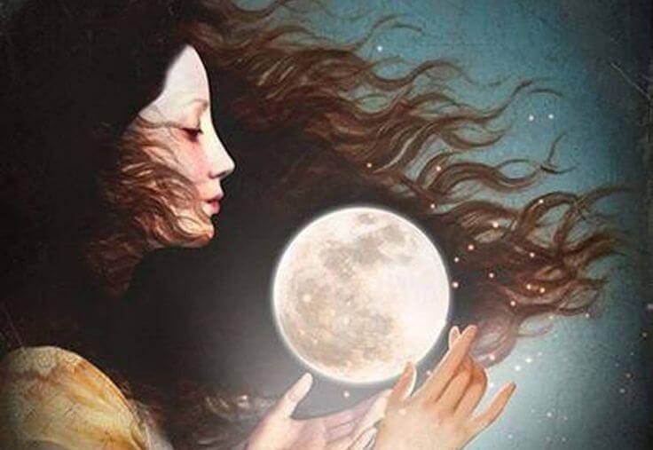 여자와 달