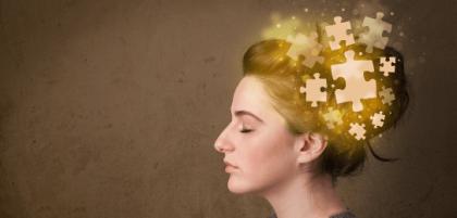 퍼즐 뇌 소녀