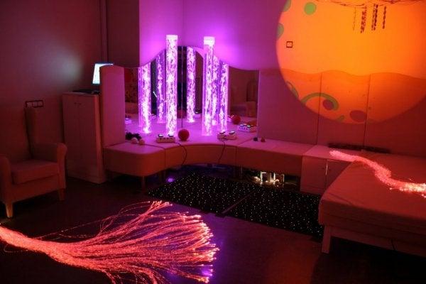 스노젤렌 다감각 자극 방에 대해 들어본 적이 있는가?