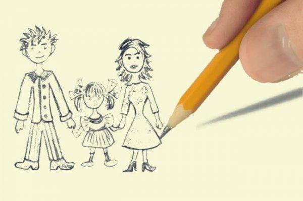 가족 그리기 테스트: 아이의 감정을 파악하는 방법