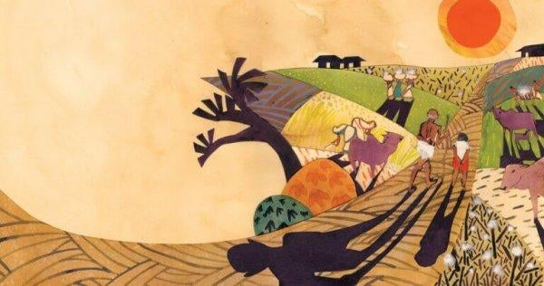 인도의 풍경 그림