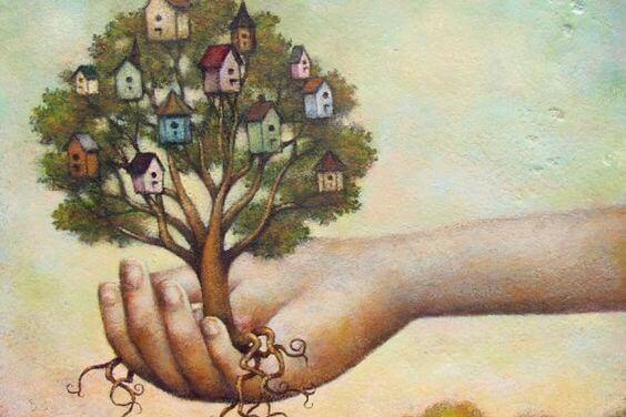 나무와 손