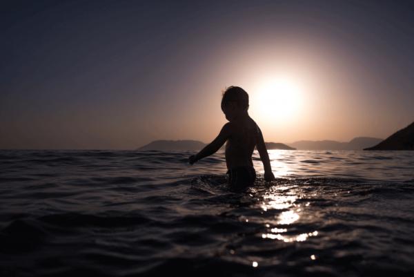바다속 어린이
