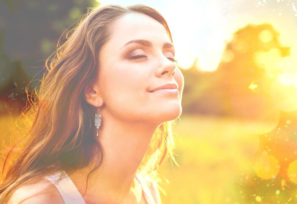 햇빛 여자