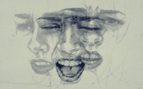 감정을 호소하는 얼굴