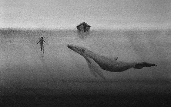 고래 보트: 무심함