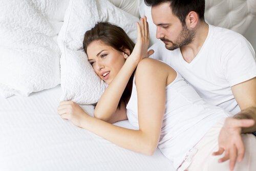 여성이 섹스에 대한 관심을 잃을 때