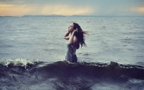 바다의 소녀