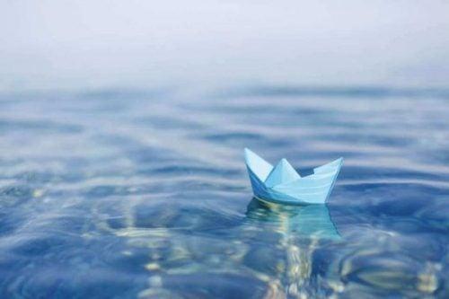 물 위 종이배: 도교에서 말하는 물의 특징
