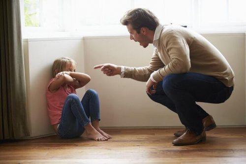 아이를 학대하는 어른