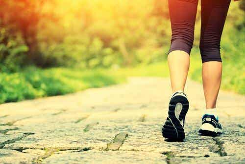 건강을 위한 걷기의 5가지 이점을 알고 있는가?