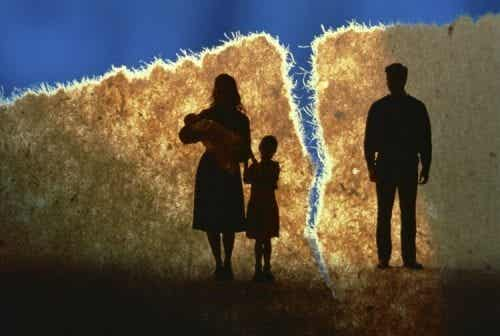 이혼이 아이들에게 미치는 영향