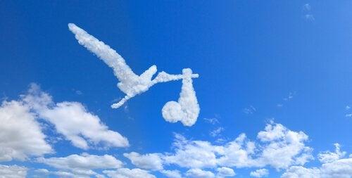 하늘 위 구름