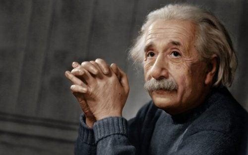 사람들은 아인슈타인이의 뇌를 연구하기를 원했다