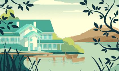 주인 없는 집의 아름다운 우화