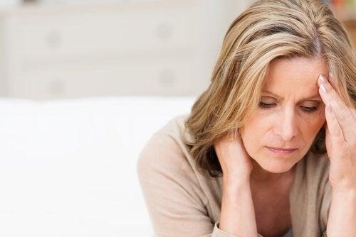 스트레스 받는 여성