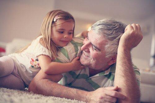 조부모님이 주는 심리적 이점