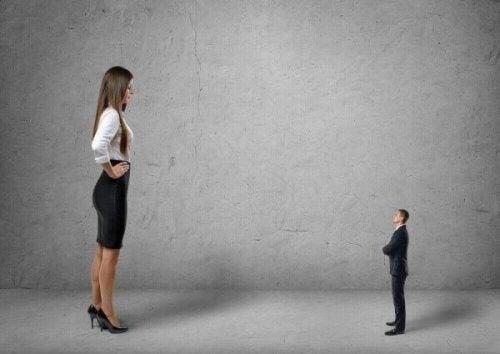 평균보다 실력이 높은 사람은 자신을 과소평가 하는 경향이 있다