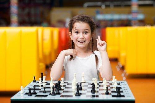 체스를 하는 아이