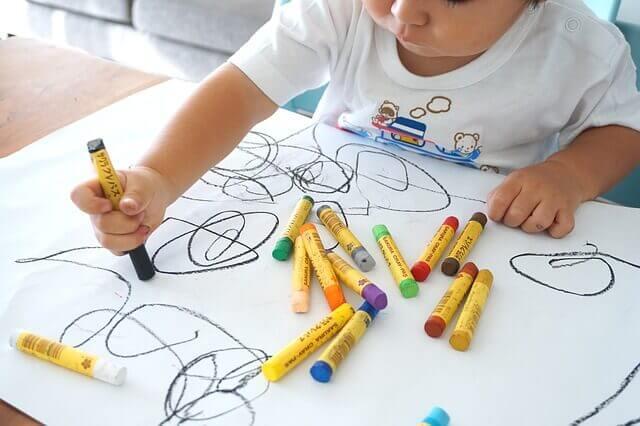 아이의 그림: 그 단계와 발달
