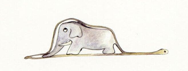 아이의 코끼리 그림