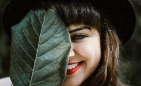 웃는 소녀