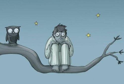 스트레스성 불면증: 걱정 때문에 쉬지 못하는 증상 01