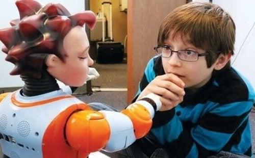 로봇 치료에 대하여: 자폐아 그리고 커뮤니케이션