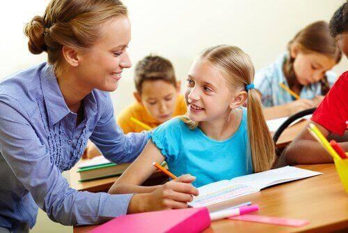 통합교육 가르치는 선생님
