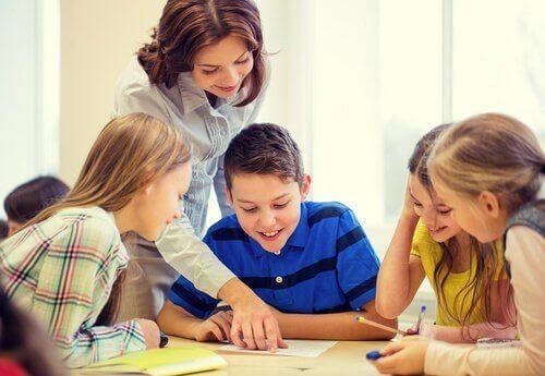 통합 교육 나타내는 교실