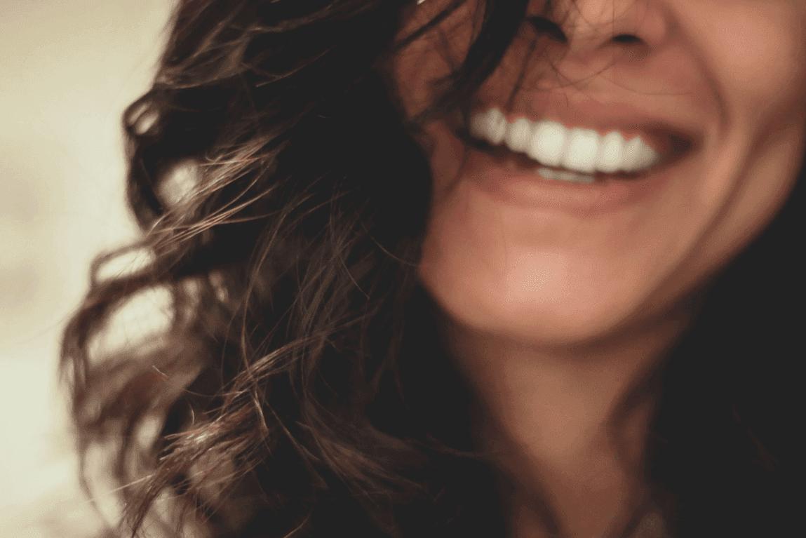 여자의 웃음