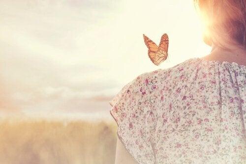 참을성을 위한 명언: 나비