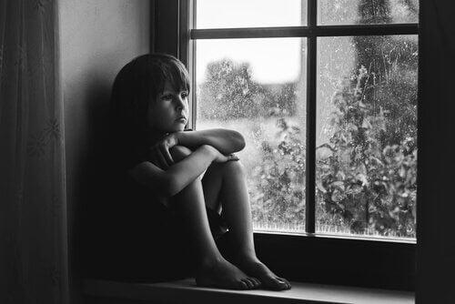 창문을 보는 슬픈 아이: 사회화