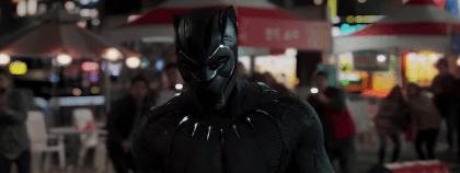 영화 블랙 팬서의 장면