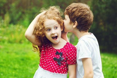 언어적 실수: 말하는 아이들