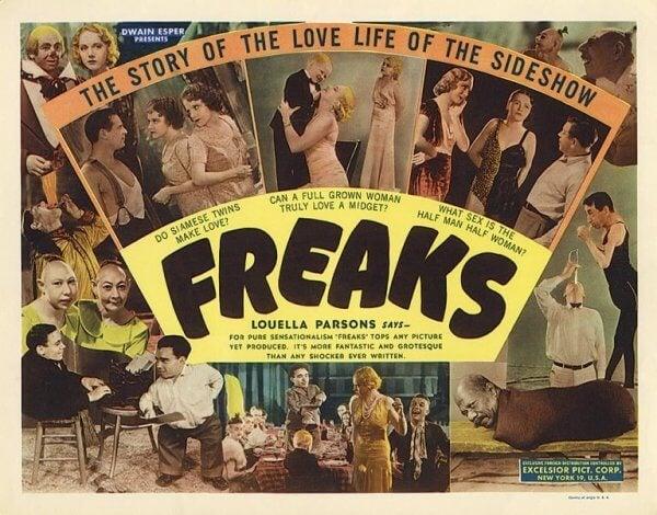 프릭스(Freaks, 1932) 심리 공포 영화
