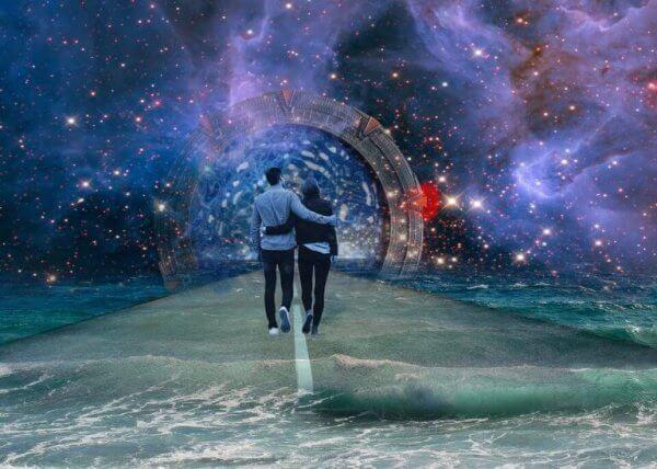 히스테로필 남성과 히스테리적인 여성 사이의 관계의 시작
