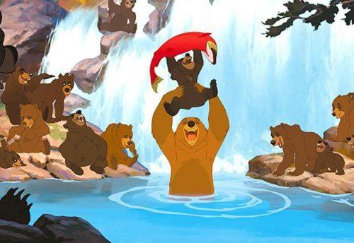 영화 '브라더 베어(Brother Bear)', 개인적 성장의 예시