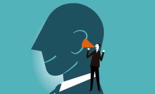 소리내어 생각하면 정신 능력이 향상된다