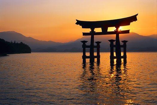 일본의 해질녘