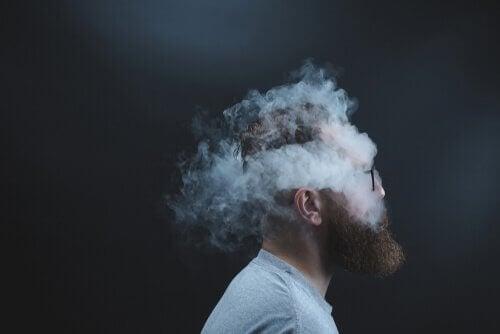 니코틴 담배 연기