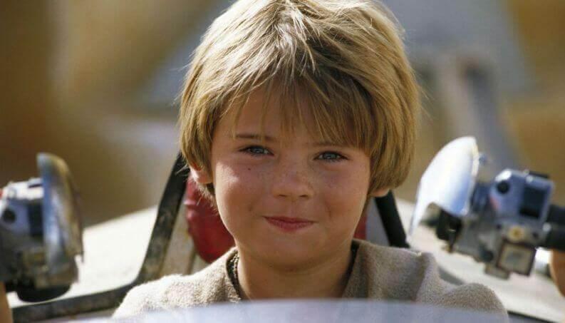어린 아나킨 스카이워커 사진