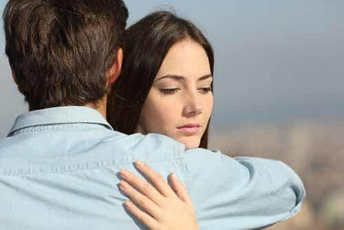 연인 관계의 불신